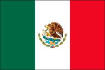 メキシコへ花