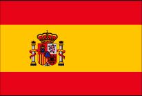 スペインへ花